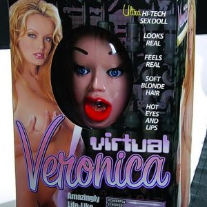 Bambola gonfiabile Vertual Veronica Amazingly Life Like Doll with 3D Face