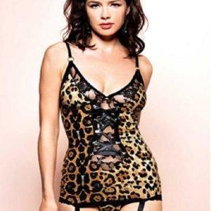 Guepiere leopard fantasy