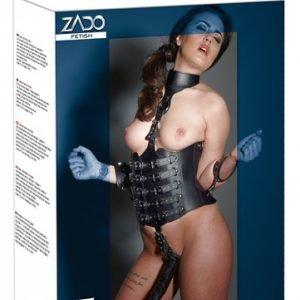 Intimo a corsetto con dildo
